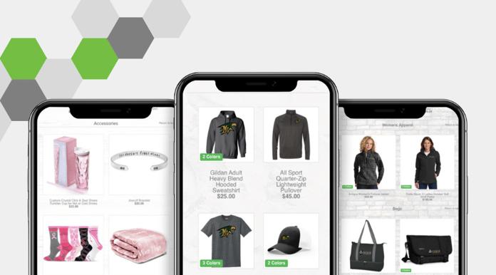 Mobile friendly online stores OrderMyGear