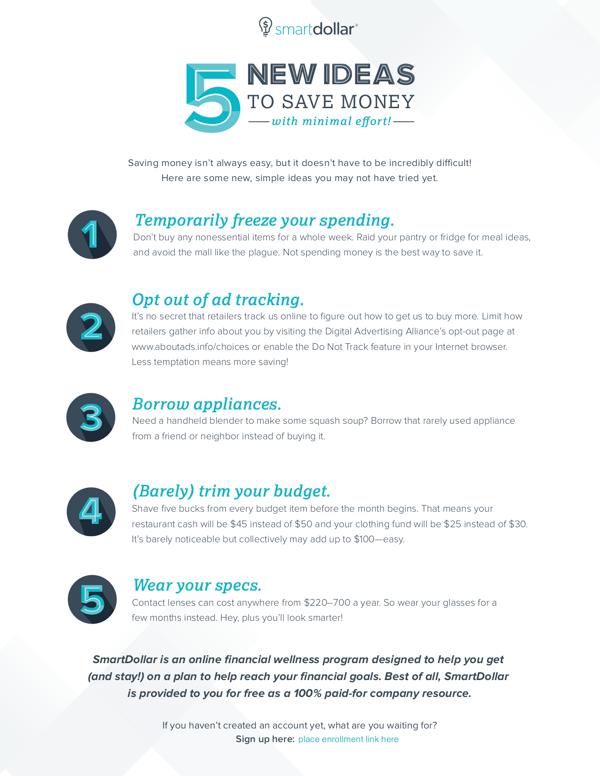 Financial Responsibility Company Wellness Ideas