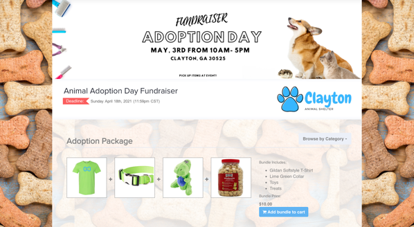 Animal Adoption Store OrderMyGear