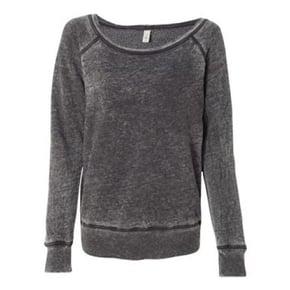 Bella + Canvas Wideneck Sweatshirt Promotional Product OrderMyGear