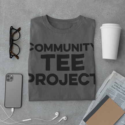 OMG Community Tee Project Grey Shirt