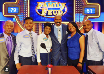 Jazmine Potts Family Feud OMG