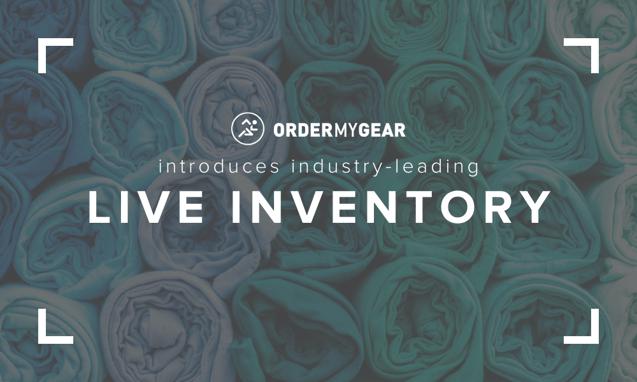 Live Inventory OrderMyGear online stores