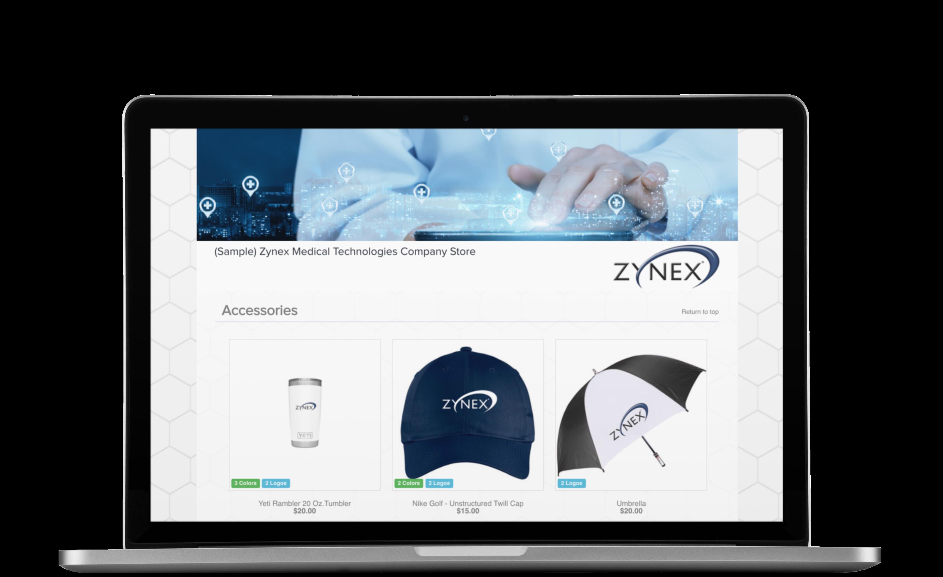 Medical Technologies Corporate Employee Online Store OrderMyGear