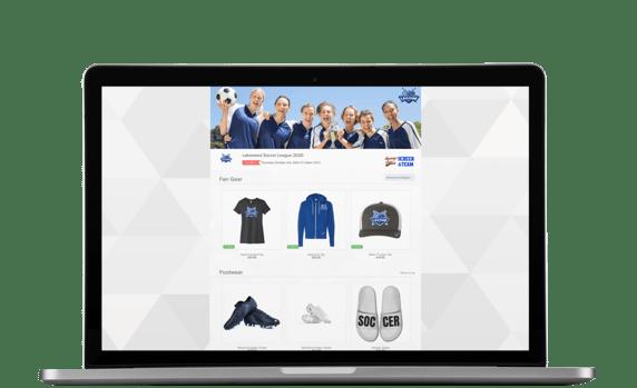 Soccer League OMG Online Store