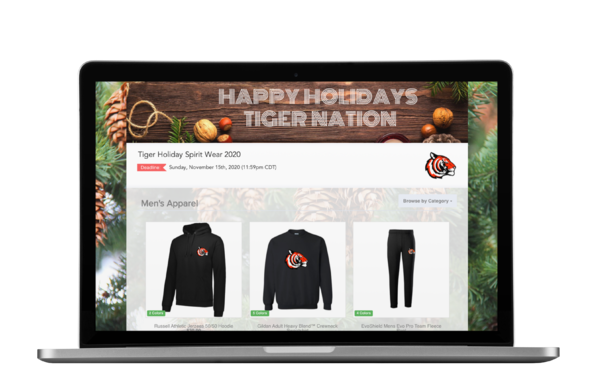 Holiday School Spirit Wear OMG Store Online