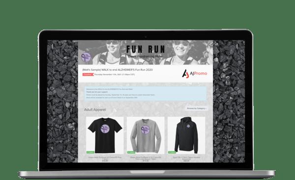 Nonprofit Fundraiser Online Store Sample