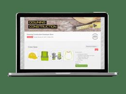 Construction OrderMyGear online store