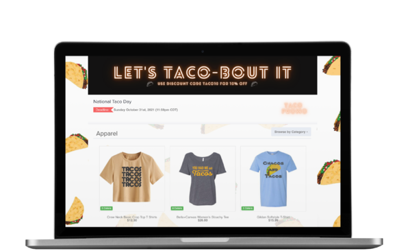 taco day online store omg