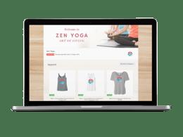 Local Studio OrderMyGear online store laptop