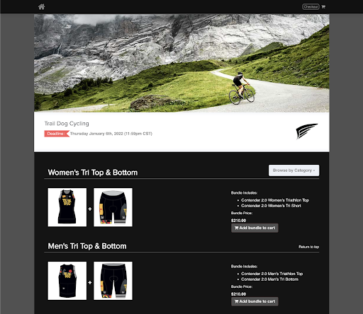 Cycling Branded OMG online store