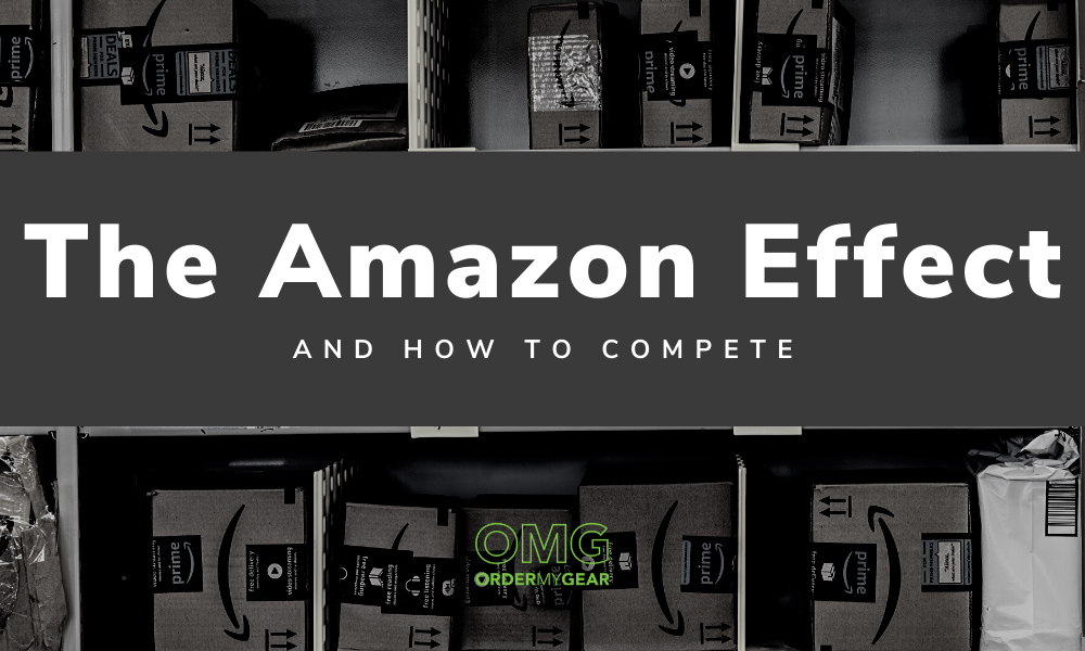 The Amazon Effect Promo Branded Team OrderMyGear