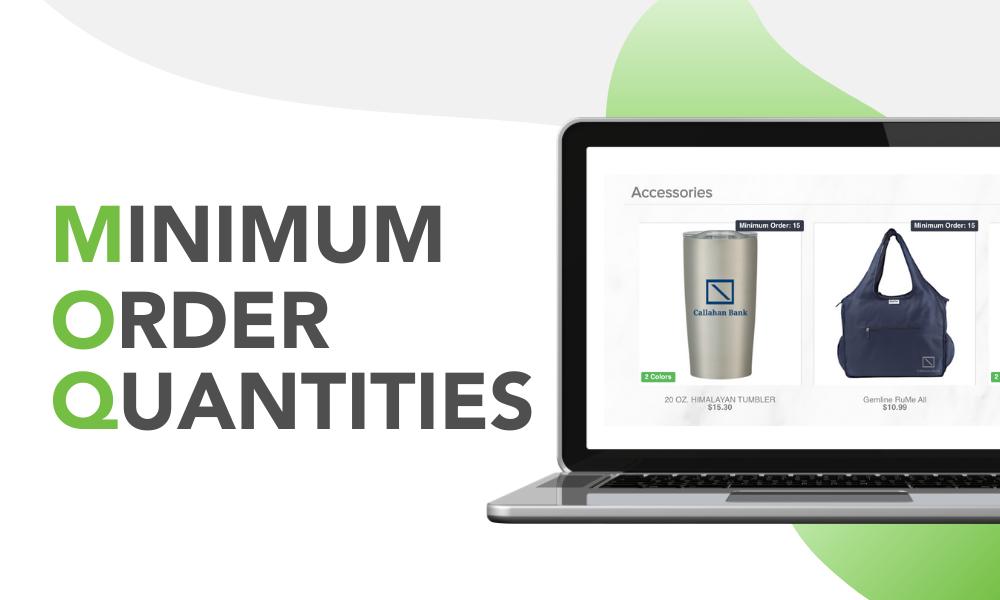 Minimum Order Quantities OMG Online Stores