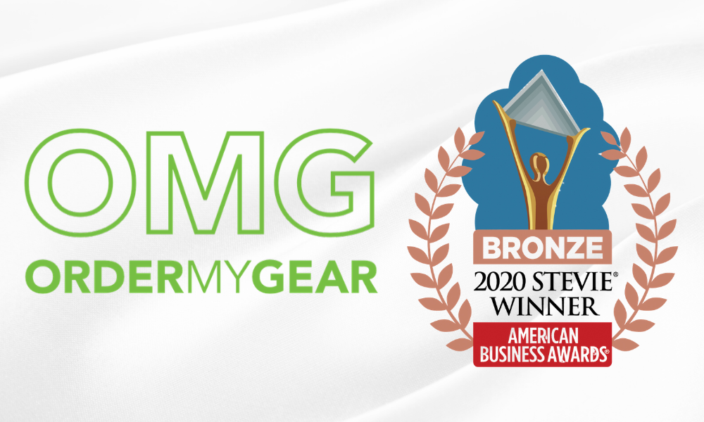 OrderMyGear Product Innovation 2020 Stevie Winner