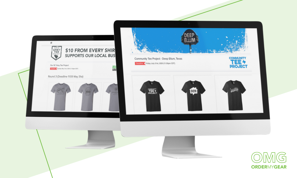 OMG online stores Community Tee Project
