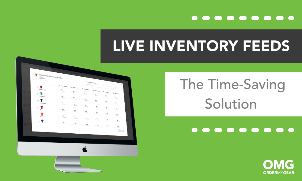 Live Inventory Feeds OMG Pop-Up Online Store