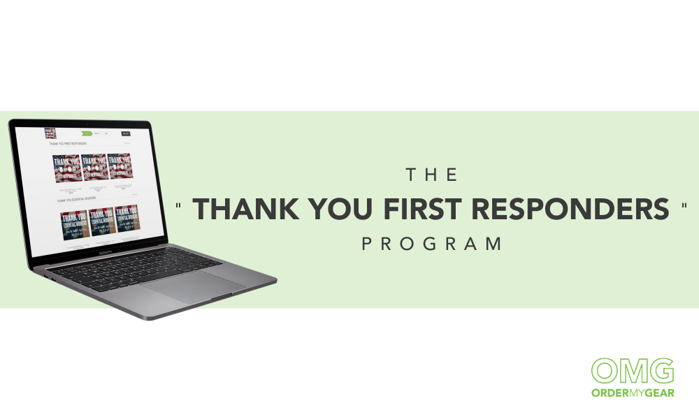 Thank You First Responders Online Store Fundraiser