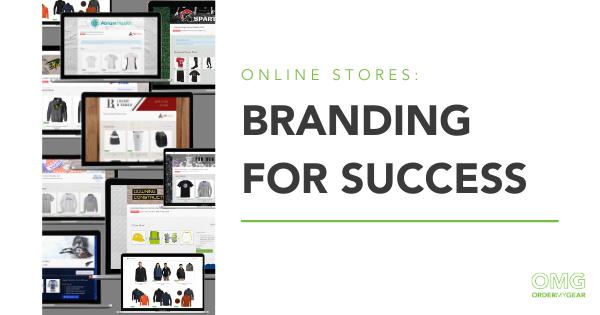 Branding online stores OrderMyGear