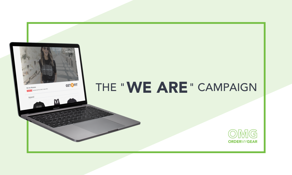 We Are Campaign OrderMyGear Versola Design Studios