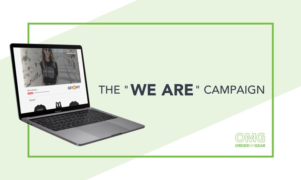 We Are Campaign OrderMyGear Versola Design Studios