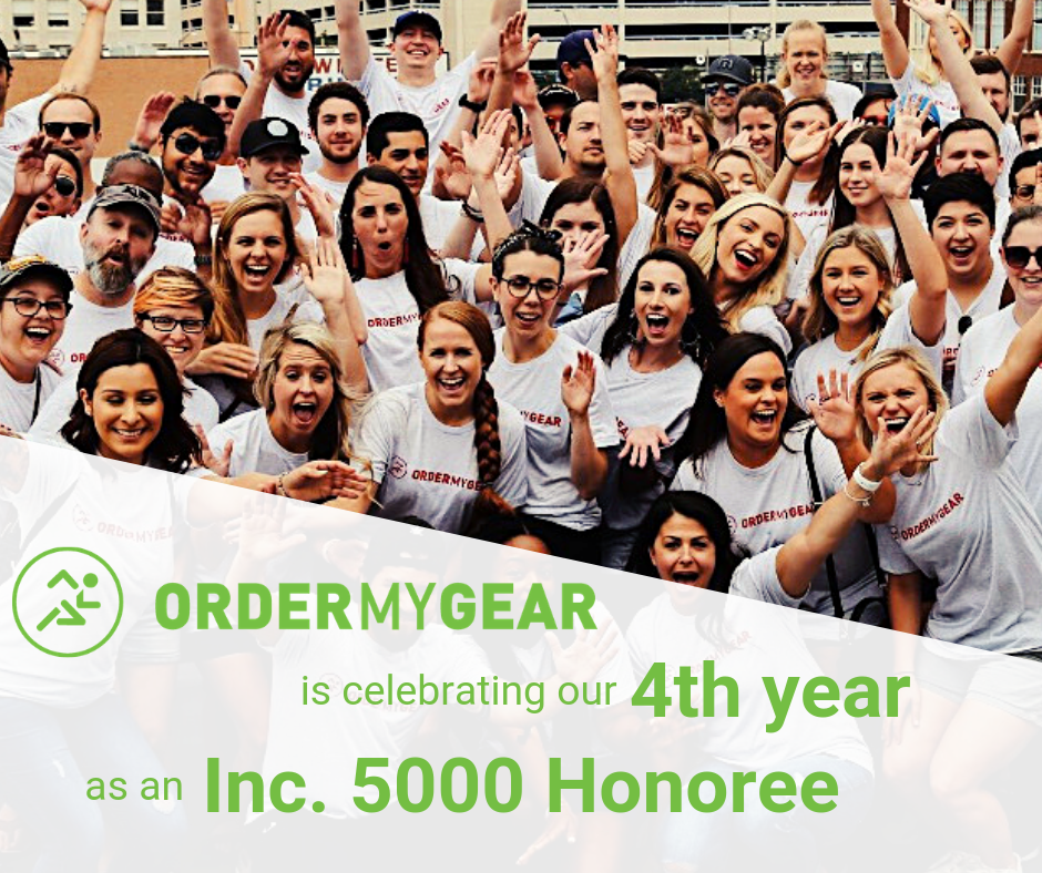 OrderMyGear Inc 5000