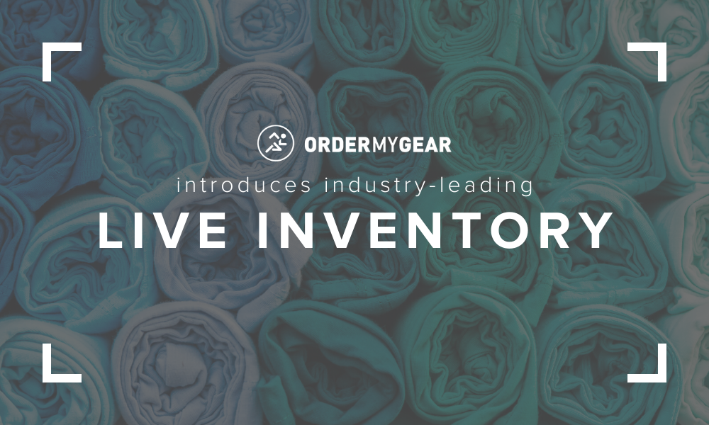Live Inventory OrderMyGear online stores