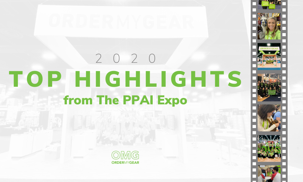 PPAI Expo 2020 OrderMyGear Highlights
