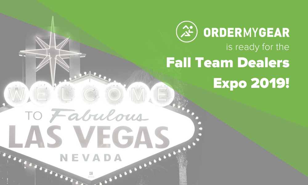 Sports Inc OrderMyGear Fall Team Dealers Expo 2019